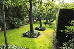 Tuin Johannapark, Amsterdam door Cilia Prenen